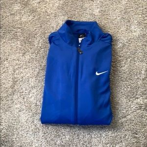 NWT NIKE Men's fleece warm up jacket